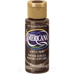 "Acrylverf Americana ""Dark Chocolate"" (Non Toxic) 59 ml"