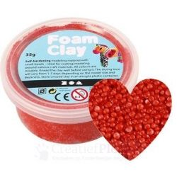 Foam Clay - rood 35 gram