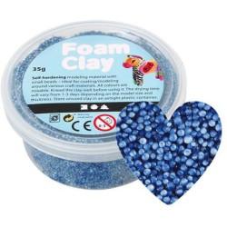 Foam Clay - blauw 35 gram