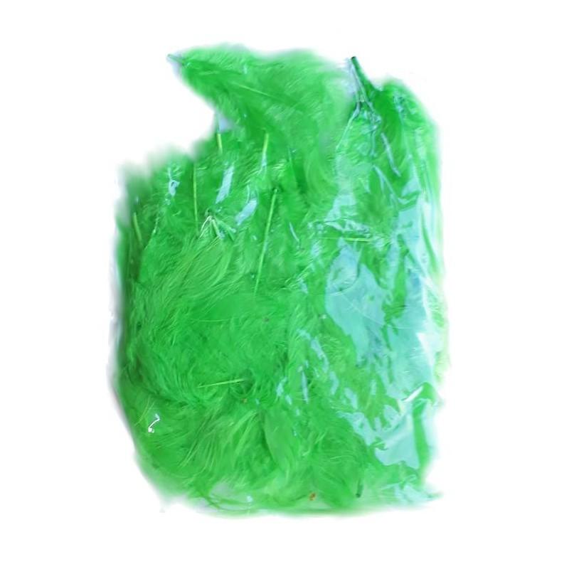 Veertjes groen  ± 45 stuks
