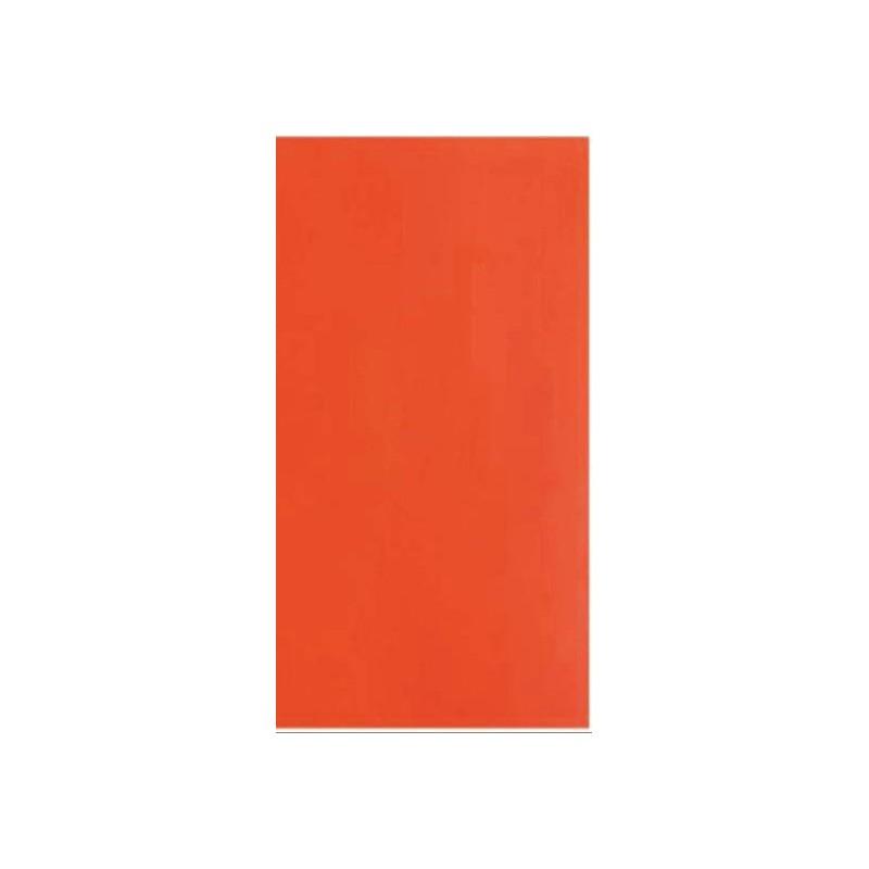 Decoratie wasfolie oranje - 2 stuks