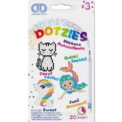Diamond painting Dotz stickerset