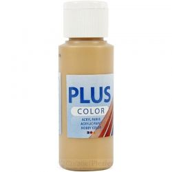 Plus Color Acrylverf Goud, 60 ml