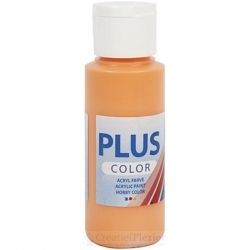 Plus Color Acrylverf Oranje, 60 ml