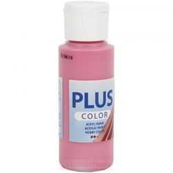 Plus Color Acrylverf Roze, 60 ml