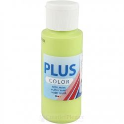 Plus Color Acrylverf Lichtgroen, 60 ml