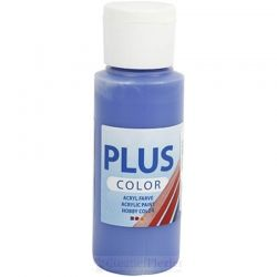 Plus Color Acrylverf Donkerblauw, 60 ml